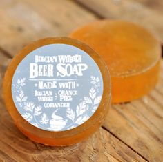 Beer soap made with Belgian Witbier, orange peel, and coriander. This one smells spicy, citrusy, and sweet! $7