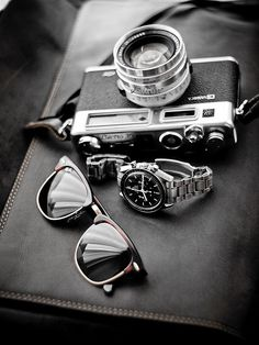 #retrostyle #fathersday Let me grab my camera. 60s and 70s style for men.  Father's Day Gift Ideas.