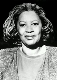 "Toni Morrison. Nobel peace prize winner,author and movie "" beloved""."