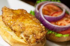 Honey Kissed Crispy Chicken Sandwich