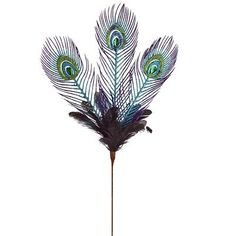 Peacock Spray Tree Pick