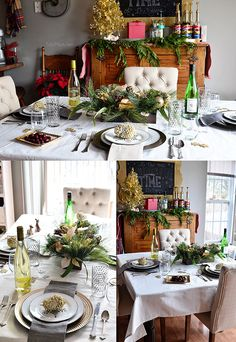 Holiday tablescape a