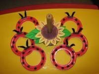Grouchy Ladybug ring toss.