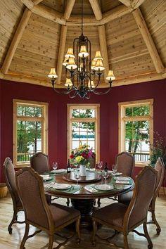 log homes | Log Home Interiors