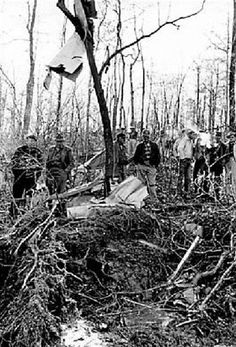 On March 5, 1963, Patsy Cline, Cowboy Copas, Hawkshaw Hawkins and Randy Hughes are killed in a plane crash.
