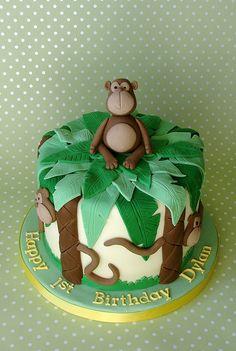 Monkey themed 1st Bi