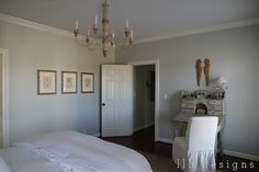 Sw Chalet Blue On Pinterest Storm Clouds Allen Roth And Master Bedrooms
