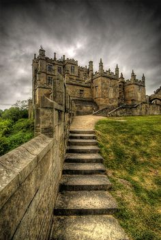 """Château de Bolsover"", Angleterre, Royaume-Uni."
