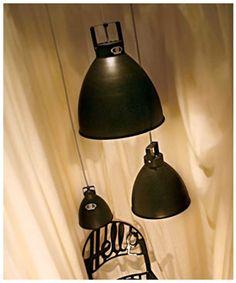 Jielde Light in Black www.euroluce.com.au