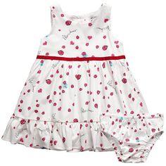 Cute ladybug dress by Moschino designer dresses, ladybug dresses, babi dress, ladi dress