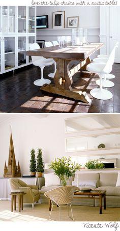farm table + tile