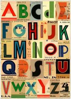 Timeless Alphabets You can find a world of... | Type Worship