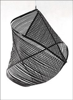 Gego, Vibrations in Black, 1957  •Bauhaus trained