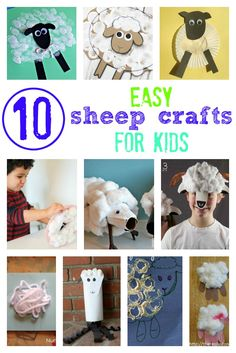 These easy sheep cra