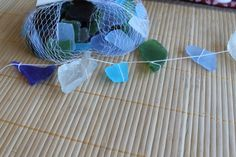 sea glass mobile instructions - Google Search