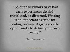 This is so important. It takes an enormous amount of strength and courage to speak your truth. Don't let anyone else tell your story. #recovery