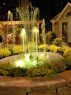 Imagine sitting in your own backyard, enjoying a spectacular fountain show set to music and lights.© 2010 Kim Knox Beckius