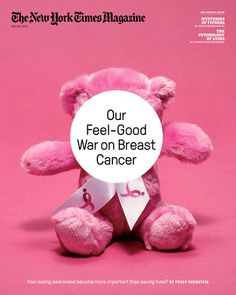 Is the War on Breast Cancer more about money and less about results? The New York Times discusses at the link...