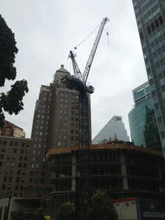 Vancouver has so many awesome cranes my head is about to explode.