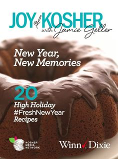 Joy of Kosher High Holiday Ebook - Free Download Available from @WinnDixie #FreshNewYear