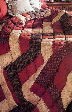Quick Puffy Quilt Pattern ePattern