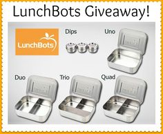 Giveaway: LunchBots Stainless Steel Set – $95 Value!