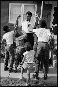 Muhammad Ali.  Beloved.
