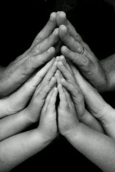Family prayer.