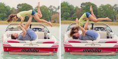 boat + engagement pics
