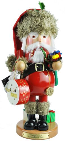 Steinbach Vintage Santa Nutcracker Signed