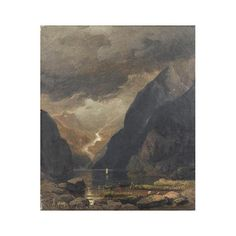 Andreas achenbach famous paintings