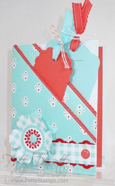 two pocket card