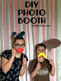 diy photo booth, par