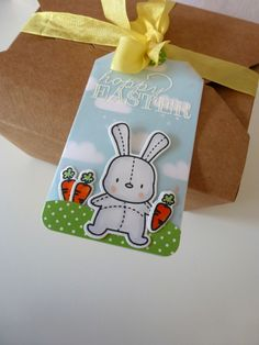 Mama Elephant Honey Bunny and Lawn Fawn Hello Sunshine paper