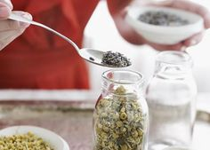 How To Make Your Own Herb Tea Blends