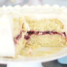 Lemon Berry Cake