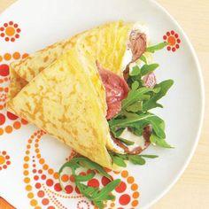 Roast Beef and Salad Crepe recipe