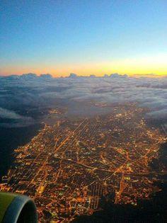 Barcelona: Night on Earth. Day in the sky @Julien Pacaud Vaché