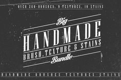 Check out 260+ Brushes,Textures&Stains Bundle by Leonard Posavec on Creative Market