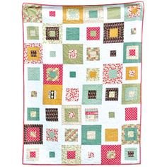 "I love this Quilt!  It's alot like mine but I really like the ""every other square"" look.  Only $7.98 at www.clothilde.com"
