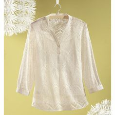 Crochet Tunic - Women's Clothing, Unique Boutique Styles & Classic Wardrobe Essentials