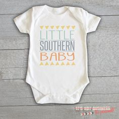 Baby Onesie - Little Southern Baby
