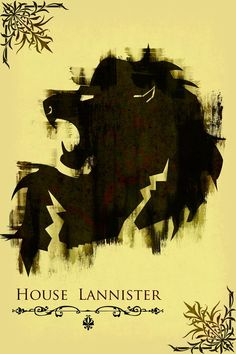 House Lannister ~ Game of Thrones Fan Art (by jackthreads)