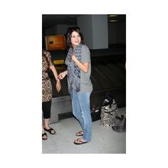 Arriving at LAX Airport - 02.Agosto - 02 - Selena Gomez Online ;... ❤ liked on Polyvore