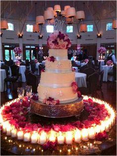 Wedding Cake, Wedding Cake Table Decor: Best Wedding Cake Table Decorations #weddingcake #weddingdecor #jevelwedding www.jevelweddingplanning.com         this is awesome