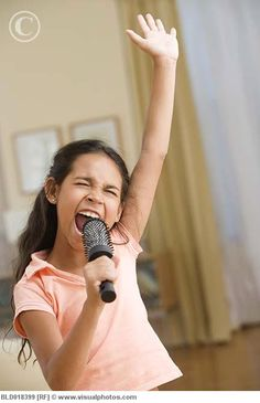 Singing at the top of your lungs when nobody is watching!