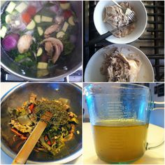 Chicken stock for the soul - the most delicious, healthy, heart-warming chicken stock around.