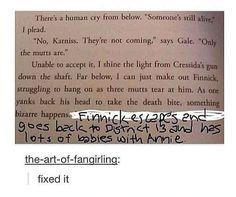 canon, books, the hunger, book fandom funny, fan girl, better, fangirl, hunger games humor, heart broken