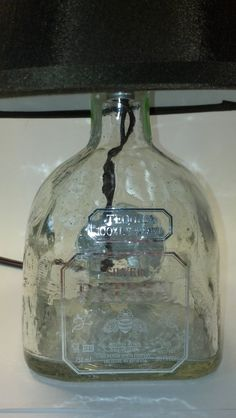 Patron Tequila Liquor Bottle Lamp  Choose by GreenGlassCustoms, $26.99 Liquor Bottles Lamps, Tequila Bottles Lamps, Patron Bottles, Liquor Lamps, Lamps Ideas, Lamps Choose