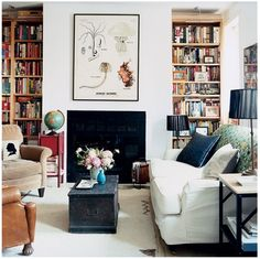 bookcases and mix